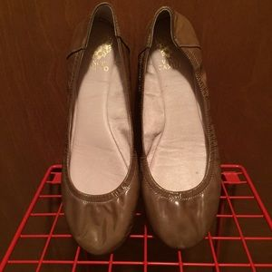 Vince Camuto Women shoes flat ballets 9'5 leather